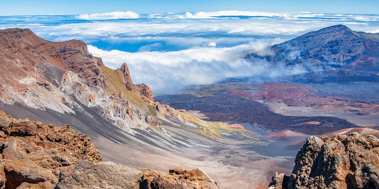 Cratère du volcan Haleakala - Maui - Hawaii - Etats-Unis