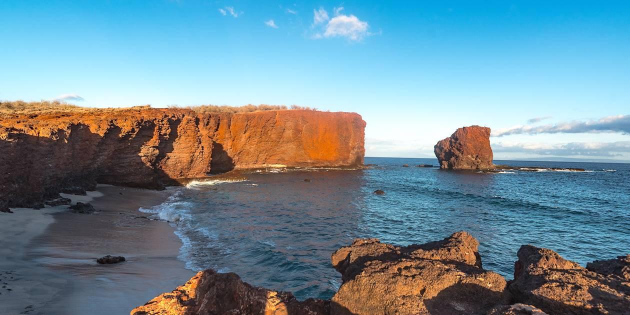 Lever de soleil sur l'île de Lanai - Hawaii - Etats-Unis
