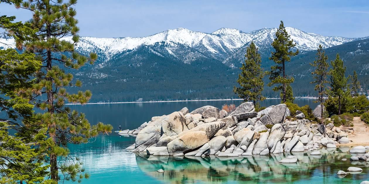 Sand Harbor State Park - Incline Village Lake Tahoe - Etats-Unis