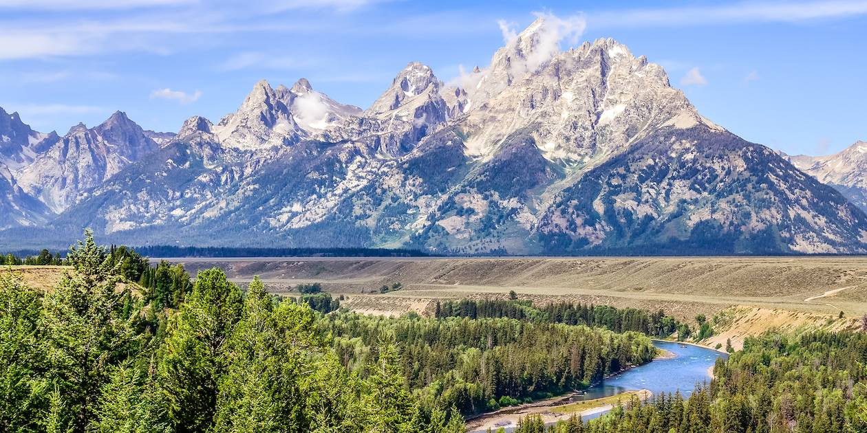 Parc national Grand Teton - Jackson - Wyoming - Etats-Unis