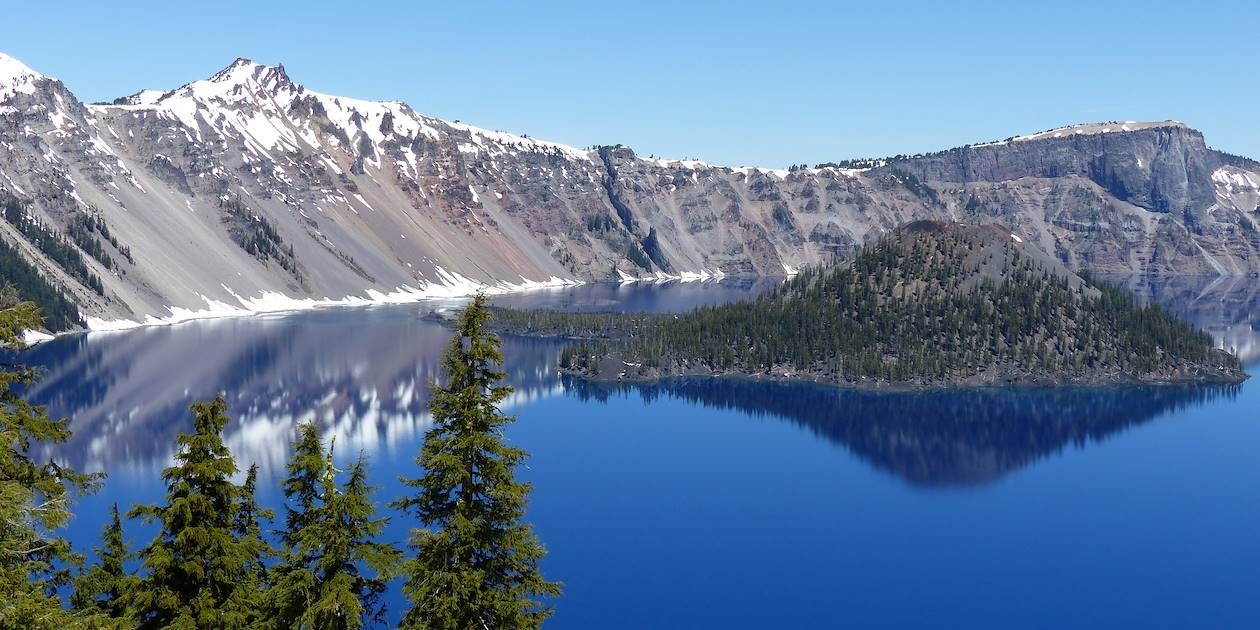 Île Wizard - Crater Lake - Oregon - Etats-Unis