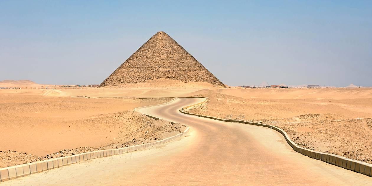 Pyramide rouge de Dahshur - Egypte