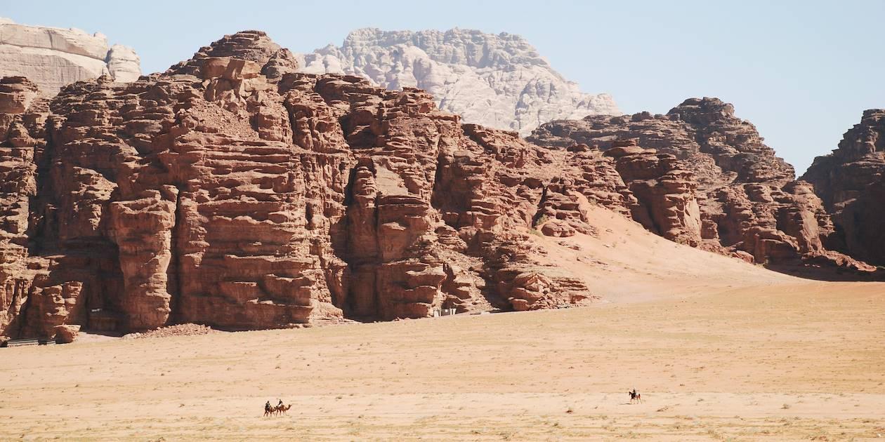 Le désert du Wadi Rum - Jordanie