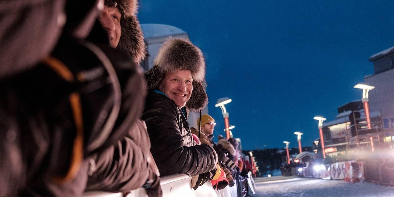 Course de rennes - Rovaniemi - Laponie - Finlande