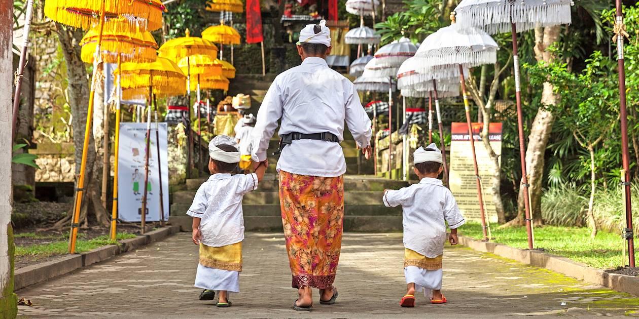 Famille balinaise - Indonésie