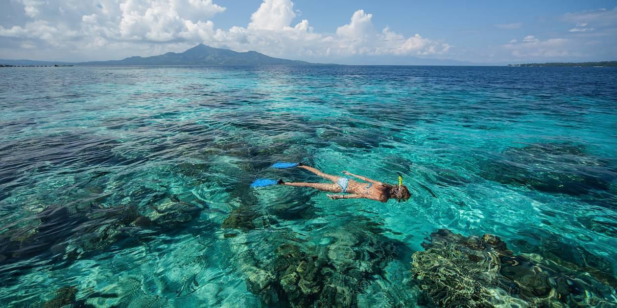 Snorkelling à Crystal Bay - Nusa Penida - Indonésie