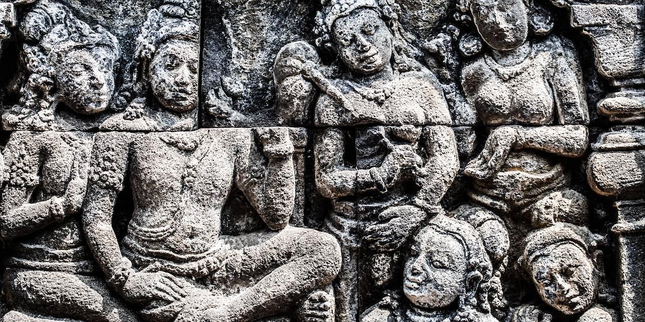 Temple de Borobudur - Yogyakarta - Java- Indonésie