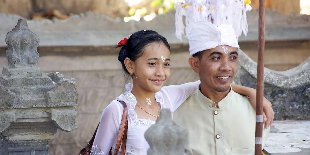 Portrait de balinais - Bali - Indonésie