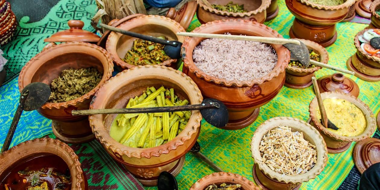 Déjeuner chez l'habitant à Saraii Village - Yala - Sri Lanka