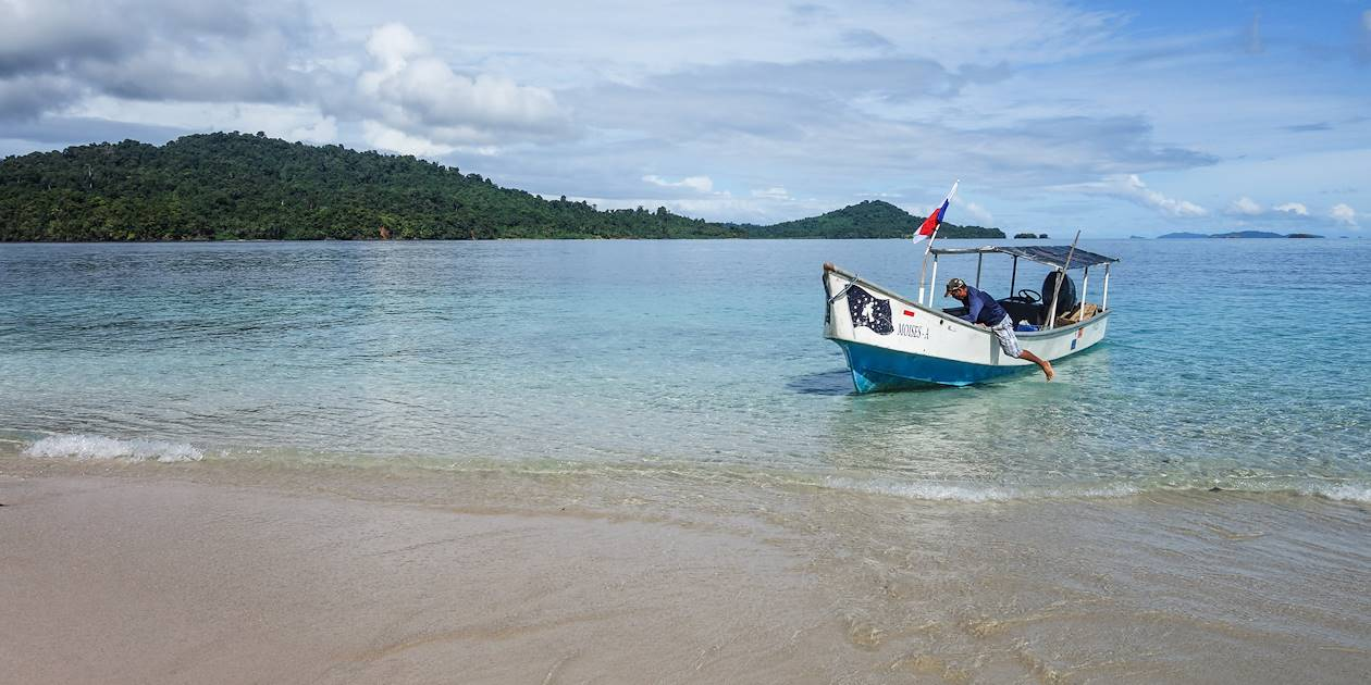Ile Coiba - Province panaméenne de Veraguas - Panama