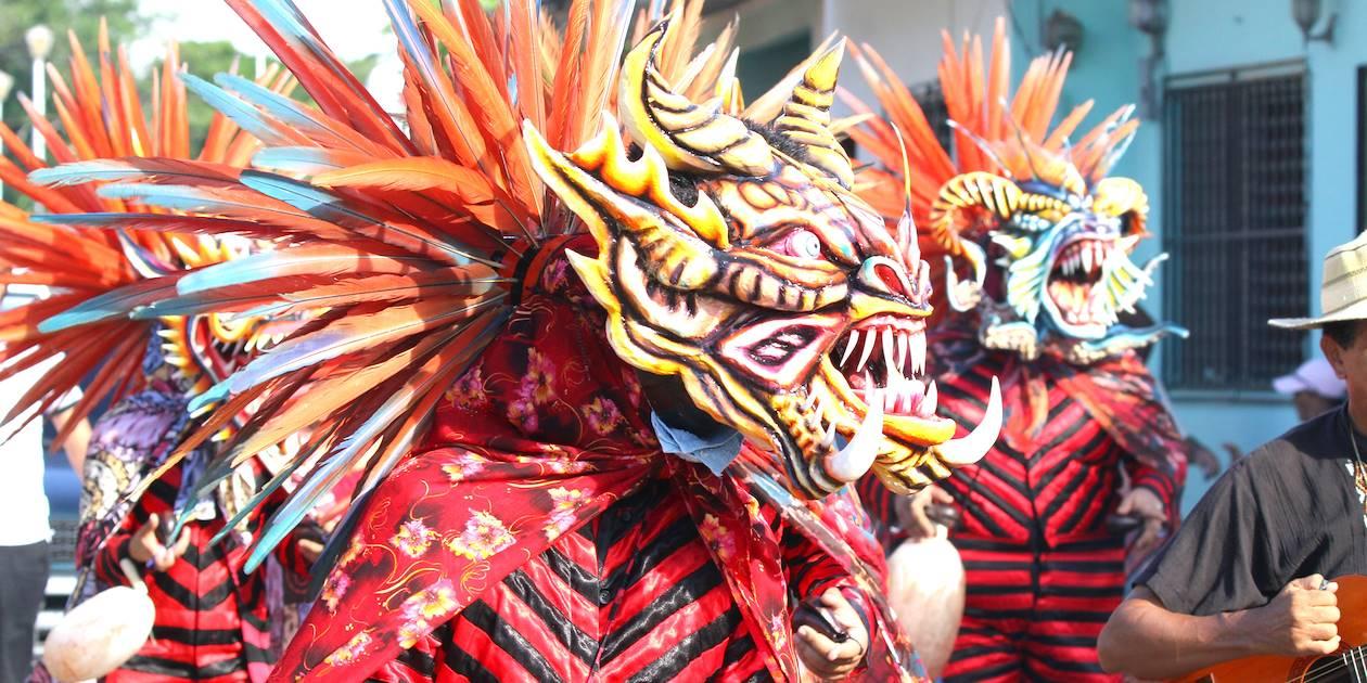 Danse des diablicos à la fête du Corpus Christi - Los Santos - Province de Los Santos - Panama