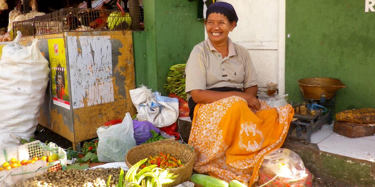 Marché - Blitar - Java - Indonésie