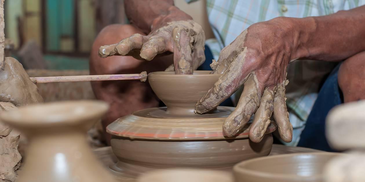 Art de la poterie traditionnelle - Yogyakarta - Indonésie
