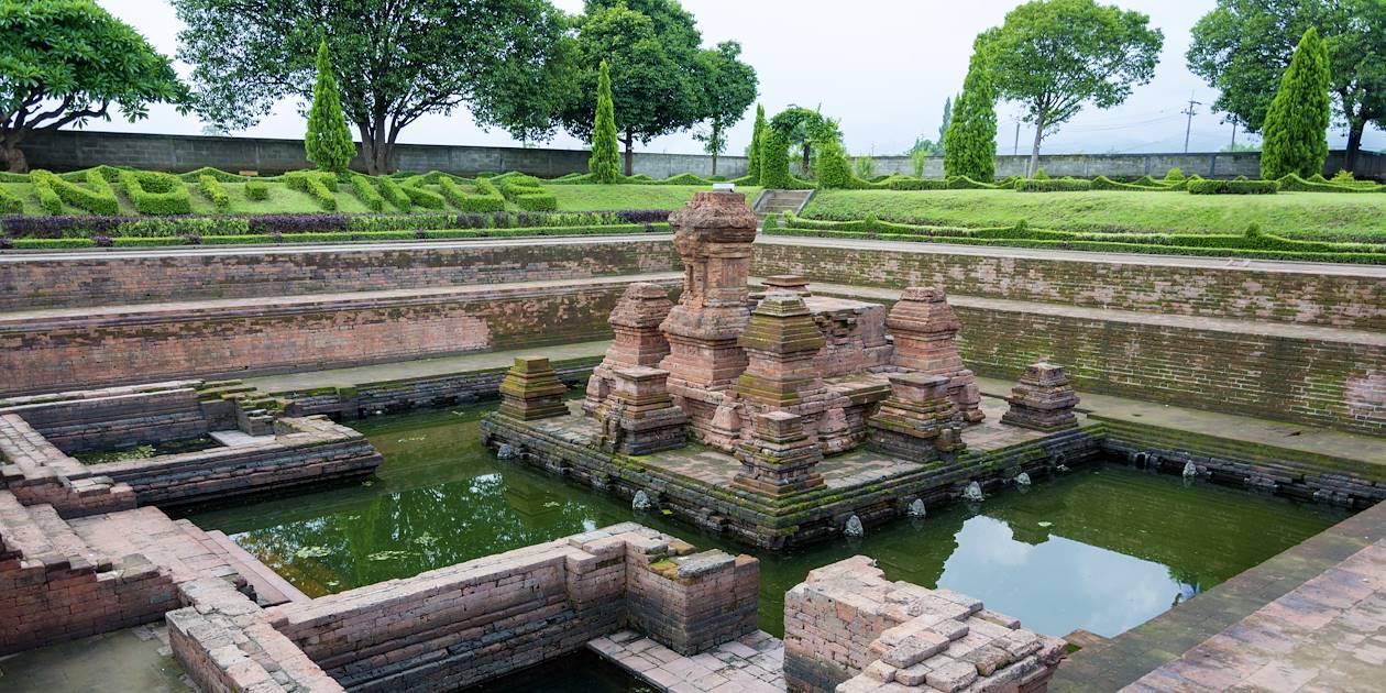 Temple de Candi Tikus - Mojokerto - Trowulan - Indonésie