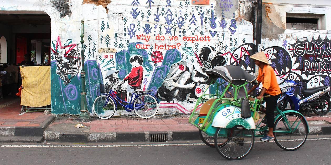 Street art - Yogyakarta - Java - Indonesia