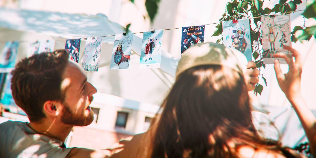 Exposition lors du Flow Festival - Helsinki - Finlande