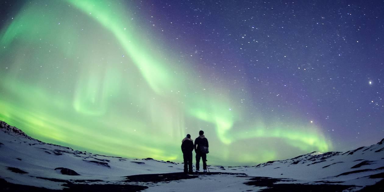 Balade en raquettes et aurores boréales - Inari - Laponie - Finlande