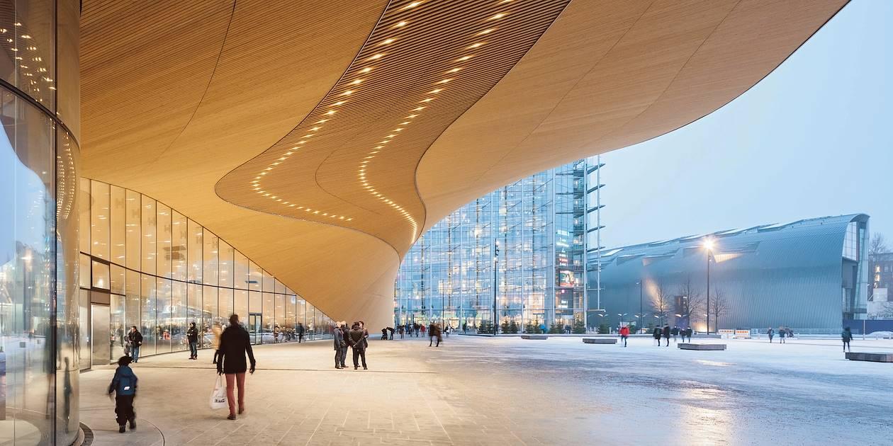 La bibliothèque centrale Oodi - Helsinki - Finlande