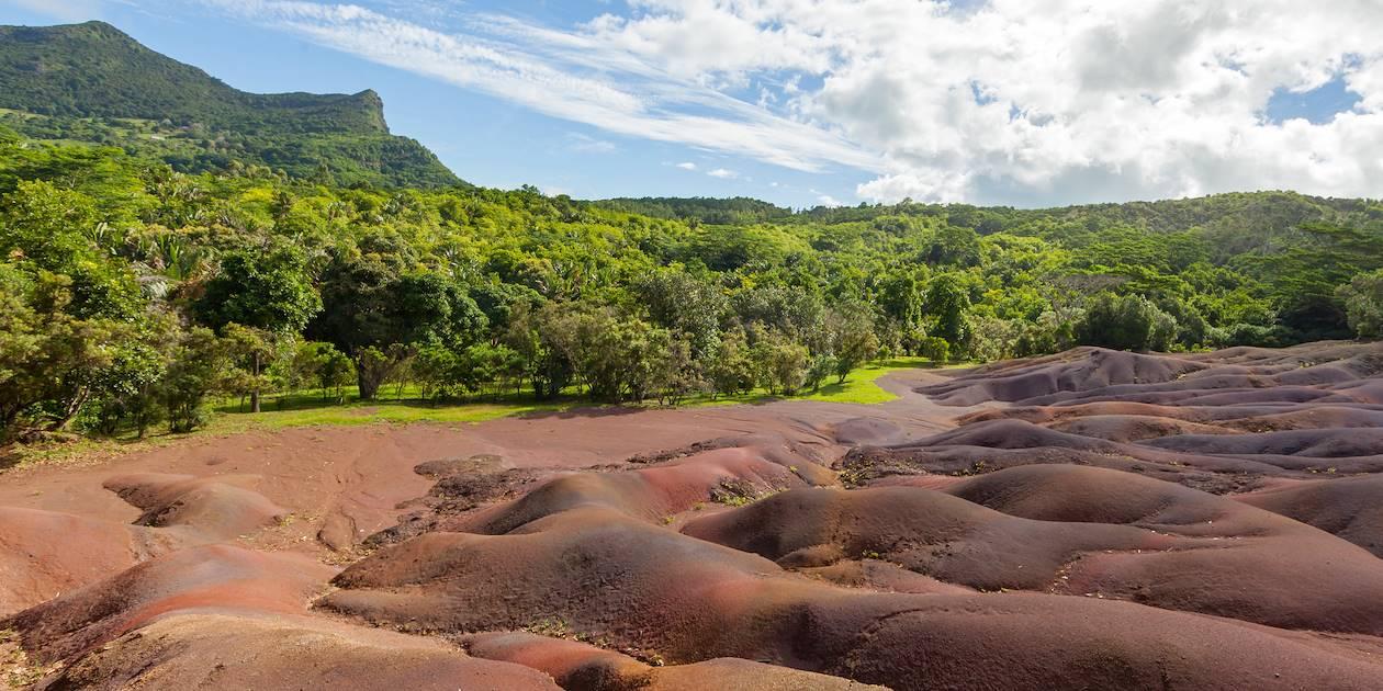 Terres des Sept Couleurs - Chamarel - Île Maurice