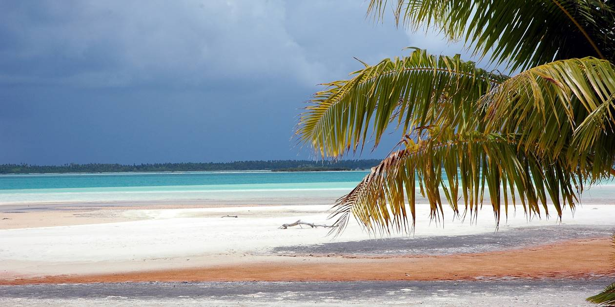 Sable rose de Rangiroa - Archipel des Tuamotu - Polynésie française