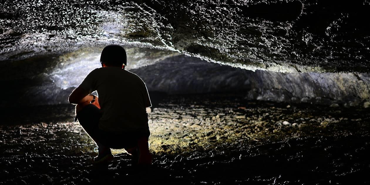 Découverte des tunnels de lave du Piton de la Fournaise - Ste Rose - La Réunion
