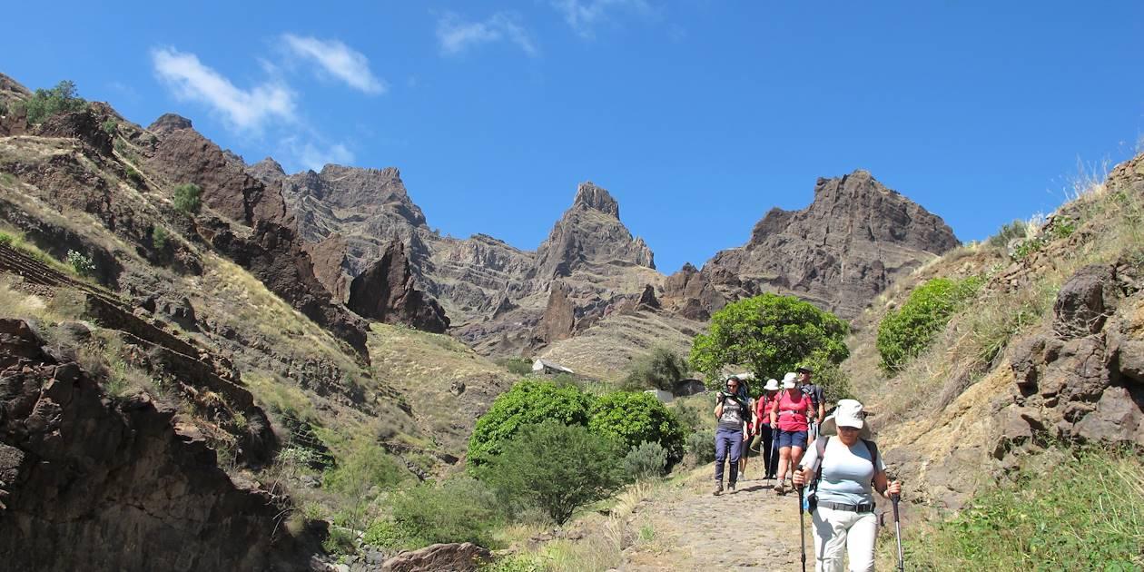 Randonnée à Ribeira das Patas - Cap-Vert