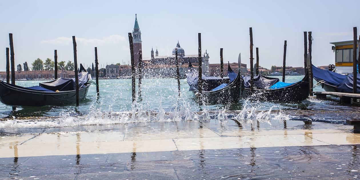 L'Acqua Alta à Venise - Région de la Vénétie - Italie