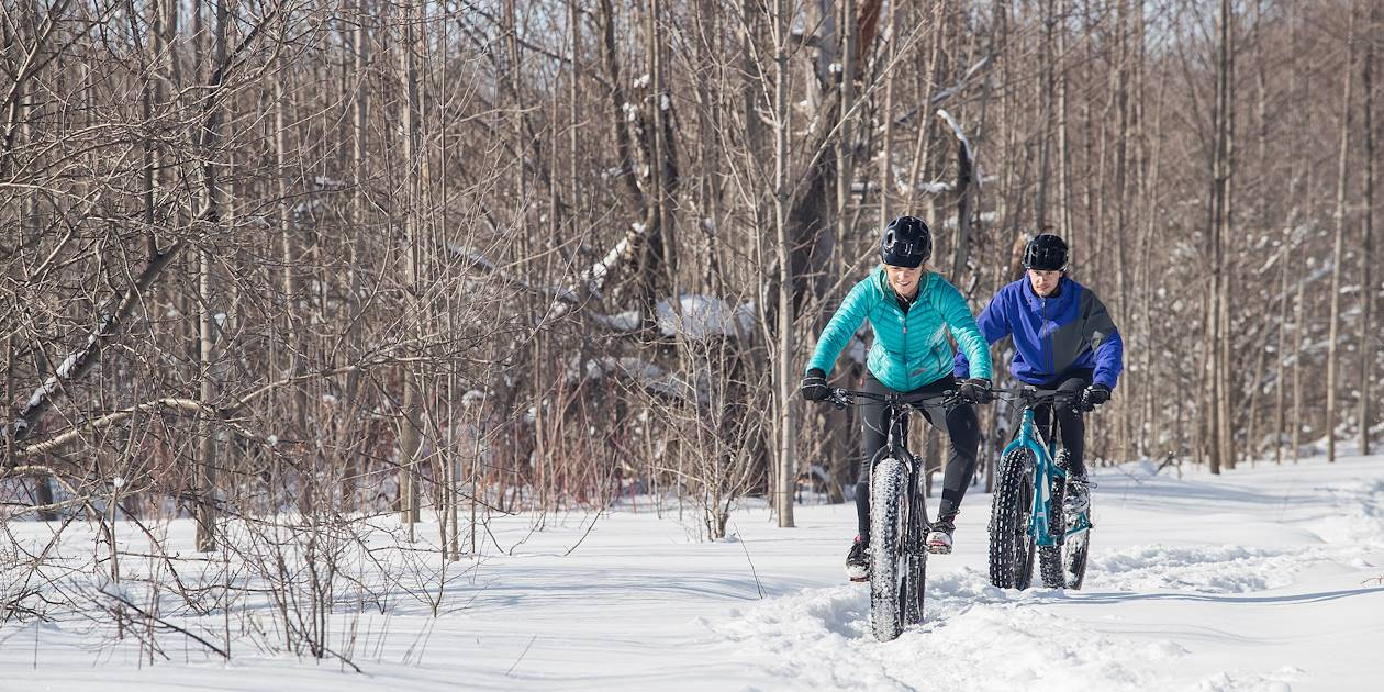 Balade en Fat Bike - Laponie - Finlande