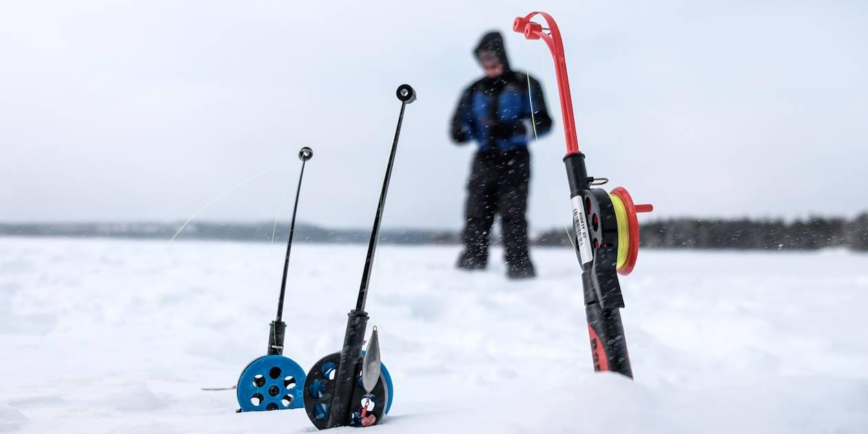 Découverte de la pêche au trou - Finlande