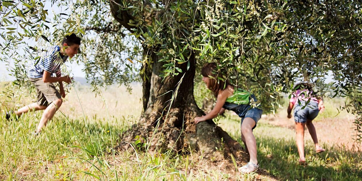 Enfants jouant en Italie