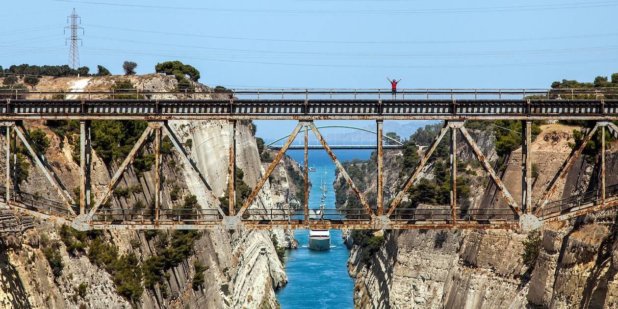 Le Canal de Corinthe - Nauplie - Péloponnèse - Grèce