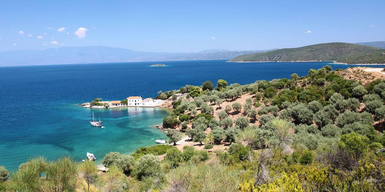 Maisons au bord de mer - Argalasti - Grèce