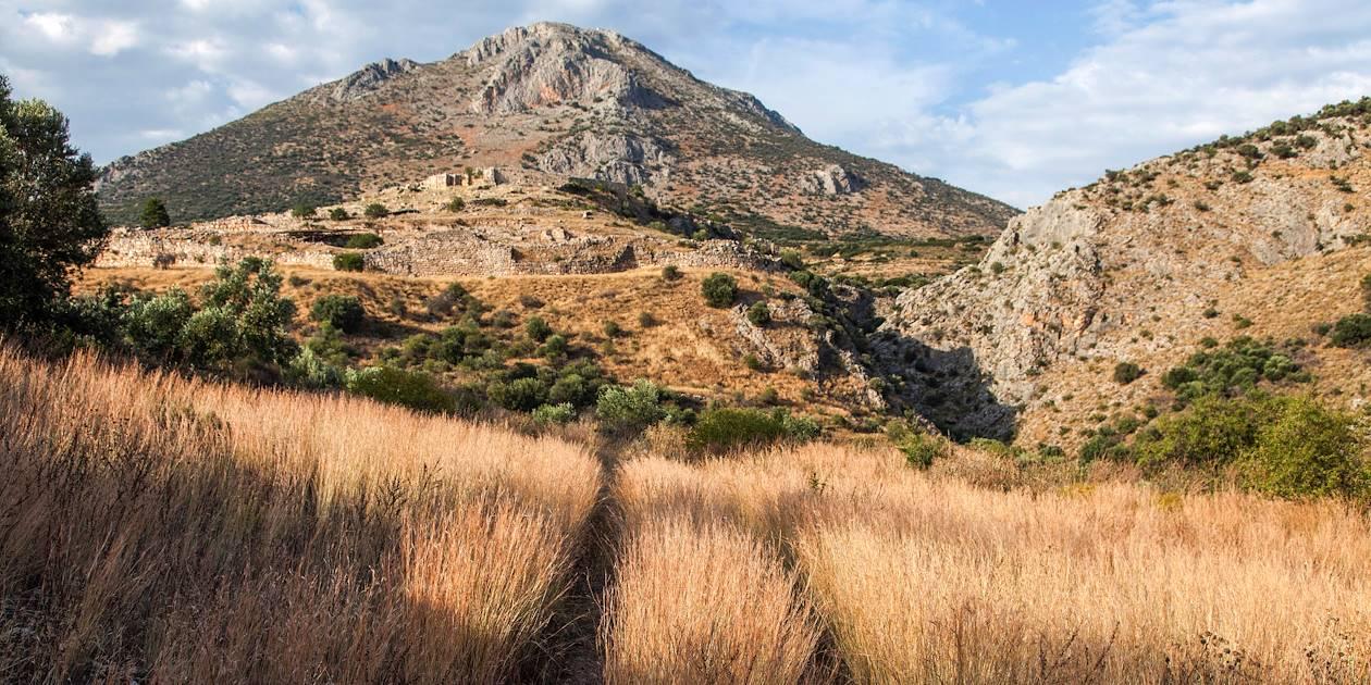 Découverte de la cité antique Mycènes - Mycènes - Péloponnèse - Grèce