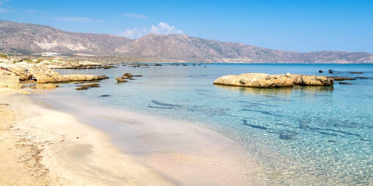 Lagon Elafonissi - Crète - Grèce