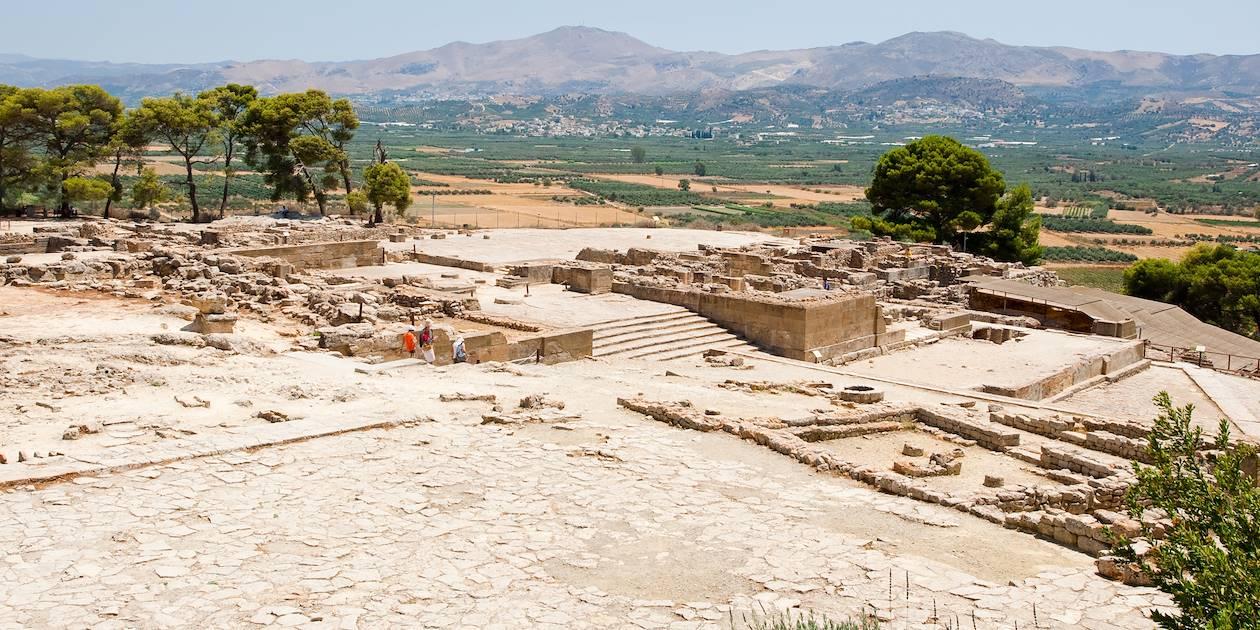 Site archéologique de Phaestos - Crète - Grèce