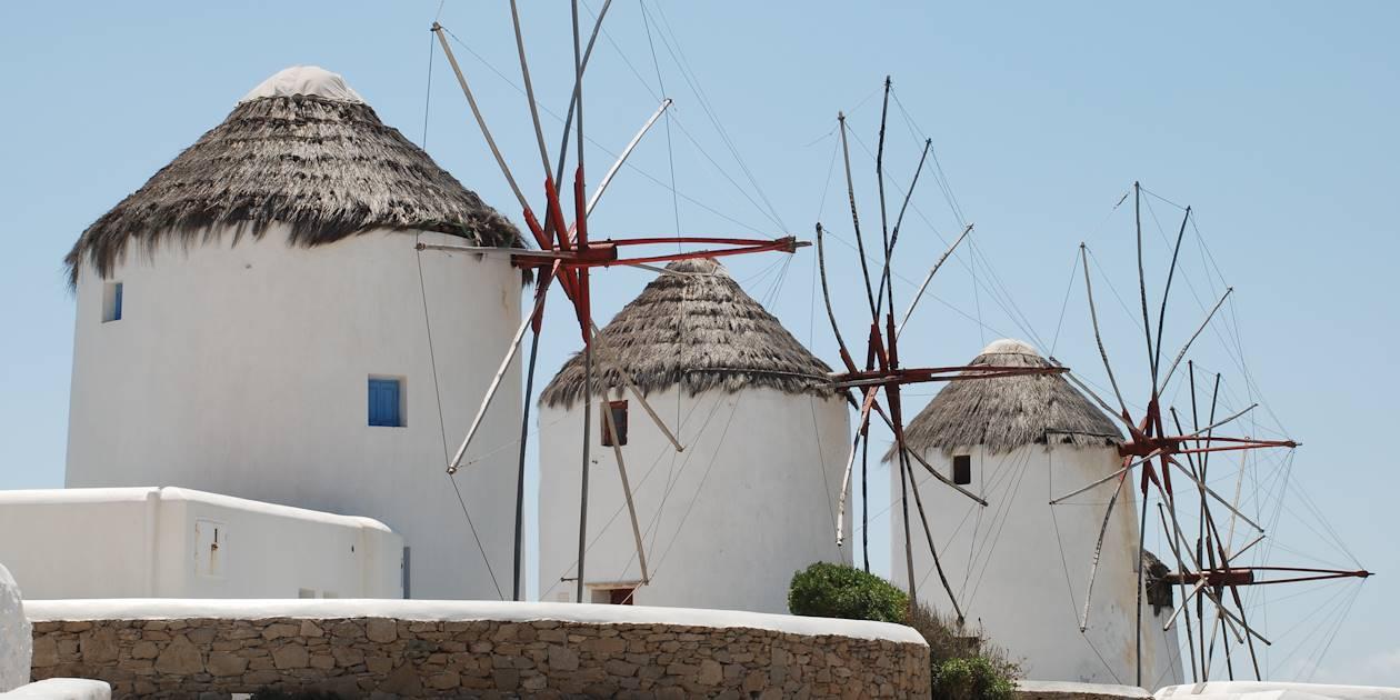 Moulins de Mykonos - Les Cyclades - Grèce