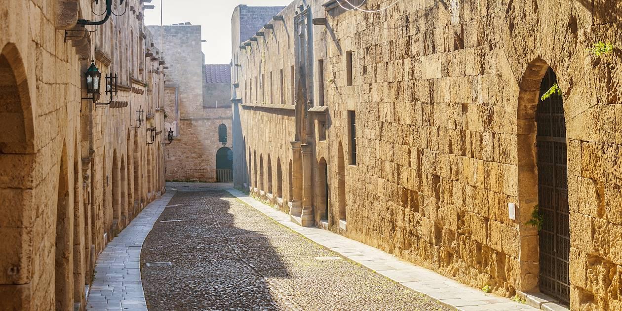 Dans la vieille ville de Rhodes - Grèce