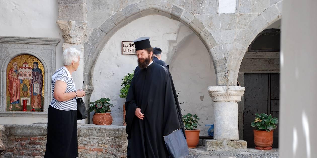 Monastère St Jean - Patmos - Dodécanèse - Grèce