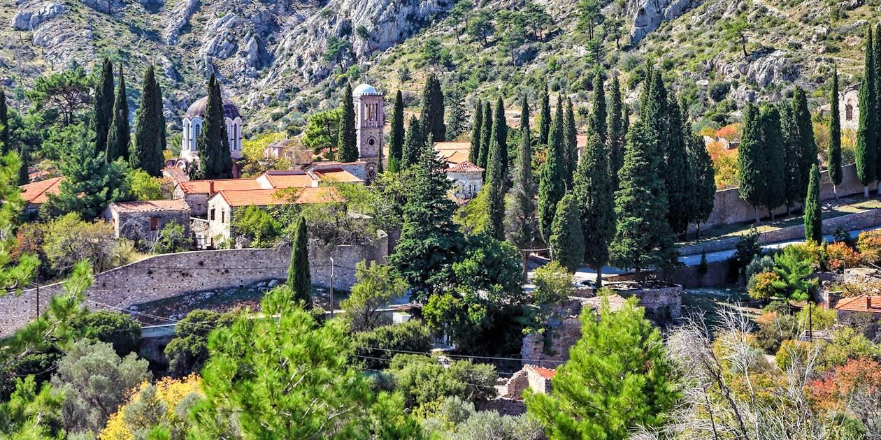 Monastère de Nea Moni - Chios - Cyclades - Grèce
