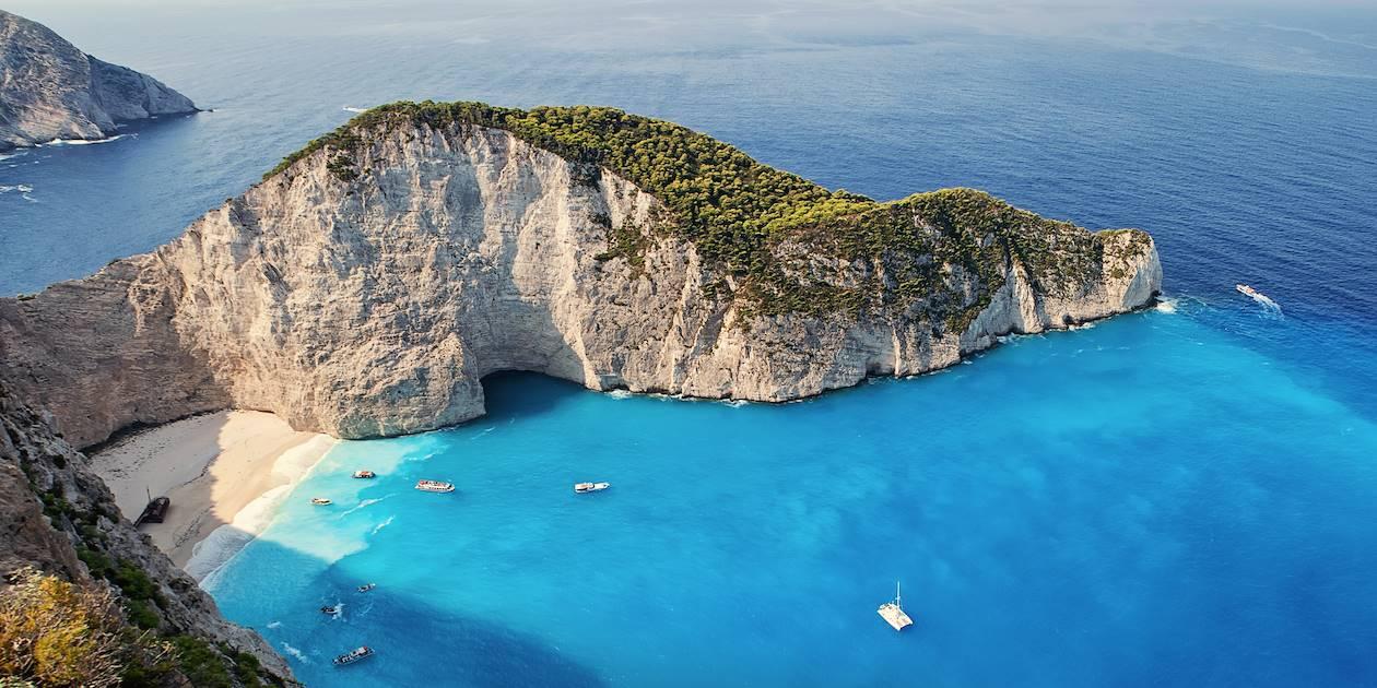 Baie du Naufrage - île de Zante - îles Ioniennes - Grèce