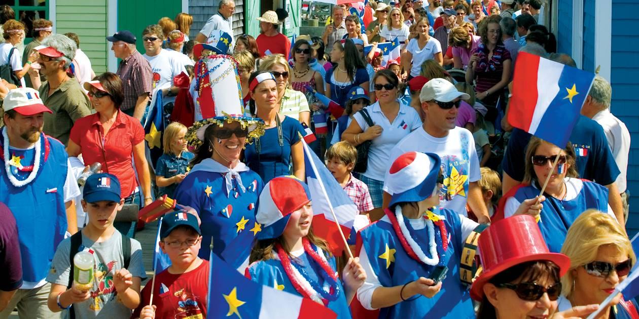 Fête nationale de l'Acadie à Bouctouche - Nouveau-Brunswick - Canada