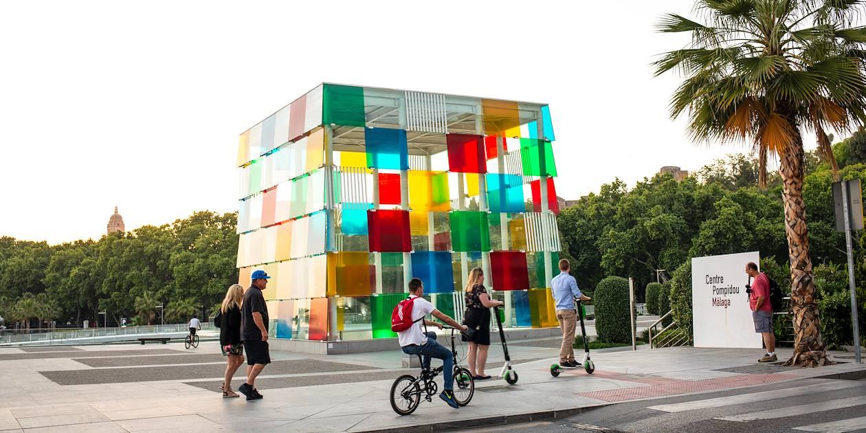 Musée Centre Pompidou de Malaga - Andalousie - Espagne