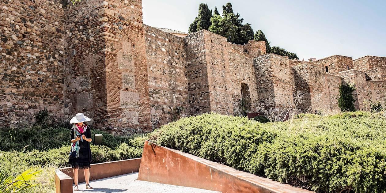 Château Alcazabar - Malaga - Andalousie - Espagne