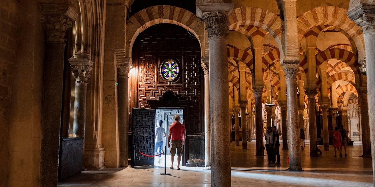 La mosquée-cathédrale de Cordoue - Andalousie - Espagne