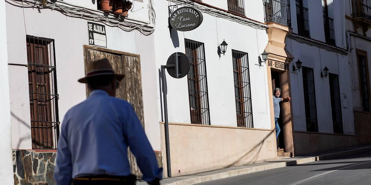 Dans les rues de Ronda - Andalousie - Espagne