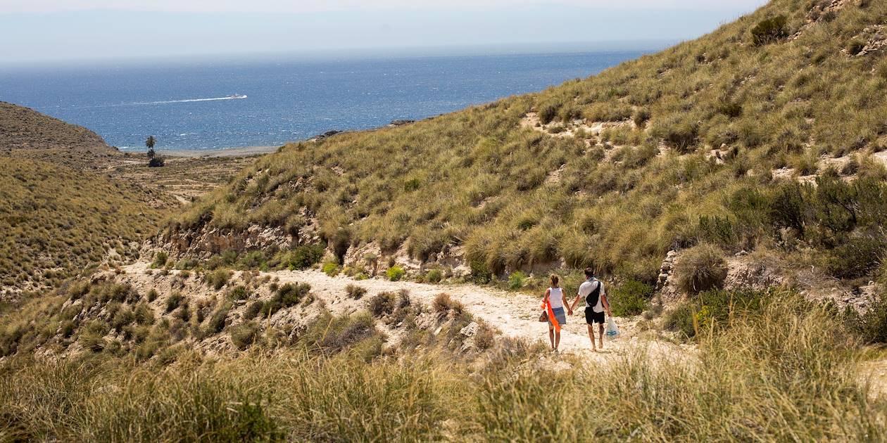 Sur le chemin de la plage - Parc naturel de Cabo de Gata-Nijar - Andalousie - Espagne