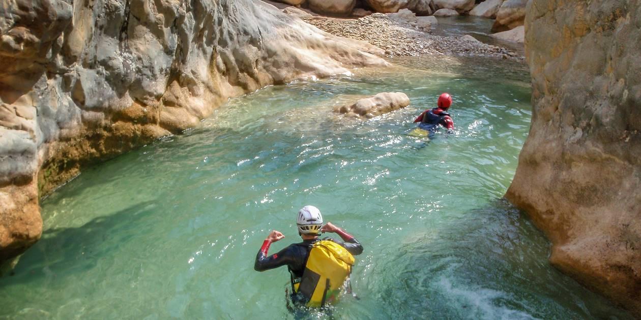 Canyoning sur le Rio Verde - Otivar - Andalousie - Espagne