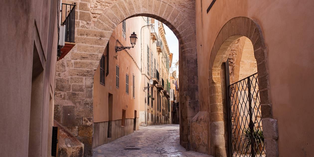 Dans la vieille ville de Palma de Majorque - Les Baléares