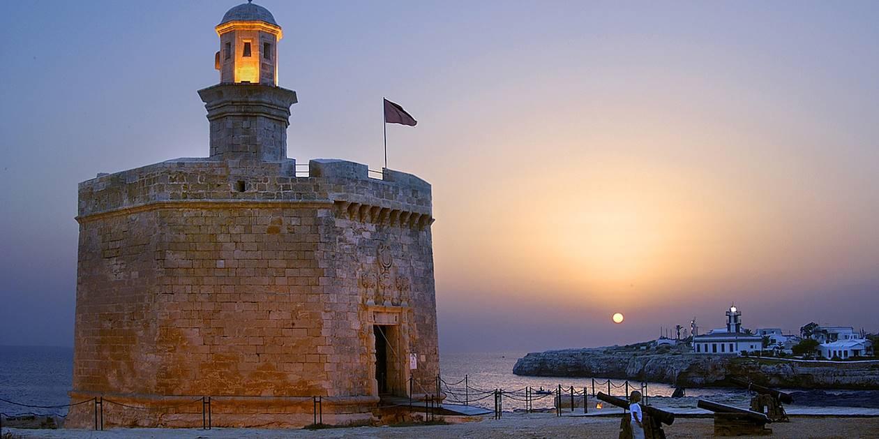 Castell de Sant Nicolau - A la découverte de Minorque - Espagne