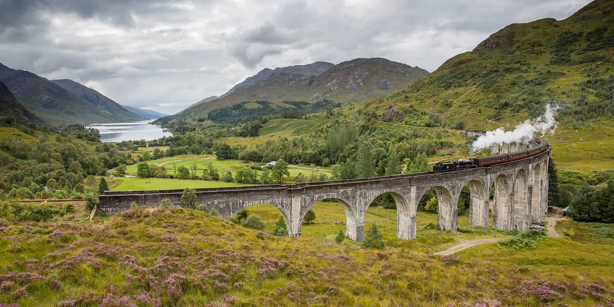Train - Glenfinnan - The Highlands - Ecosse - Royaume-Uni